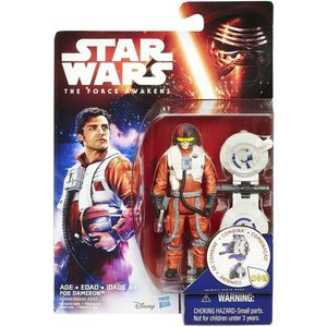 ポー ダメロン Poe Dameron ハズブロ Hasbro Toys フィギュア おもちゃ Star Wars The Force Awakens Jungle & Space Action Figure|fermart-hobby