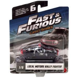 ワイルド スピード The Fast and the Furious グッズ ミニカー Camo Series Local Motors Rally Fighter Diecast Car #1/6|fermart-hobby