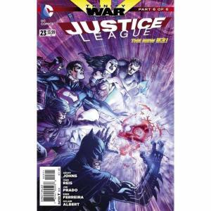 ジャスティス リーグ Justice League ディーシー コミックス DC Comics おもちゃ DC #23 Trinity War Part 6 Comic Book|fermart-hobby