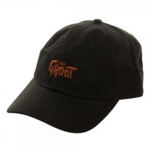 ガーディアンズ オブ ギャラクシー Guardians of the Galaxy バイオワールド ユニセックス キャップ 帽子 Marvel I Am Groot Embroidered Dad Hat Apparel fermart-hobby