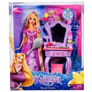 塔の上のラプンツェル Tangled マテル Mattel Toys おもちゃ Disney Rapunzel's Royal Vanity Playset|fermart-hobby