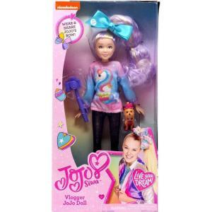 ジョジョ シワ JoJo Siwa ぬいぐるみ・人形 Nickelodeon Vlogger JoJo 10-Inch Doll fermart-hobby