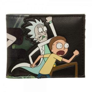 リック&モーティ Rick and Morty バイオワールド Bioworld ユニセックス 財布 Rick & Morty PU Bi-Fold Wallet|fermart-hobby
