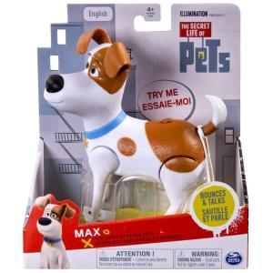 ザ シークレット ライフ オブ ペッツ The Secret Life of Pets スピンマスター Spin Master フィギュア おもちゃ Walking Talking Pets Max Figure|fermart-hobby