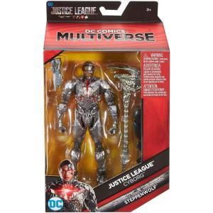 ジャスティス リーグ Justice League Movie マテル Mattel Toys フィギュア おもちゃ DC Multiverse Steppenwolf Series Cyborg Action Figure|fermart-hobby