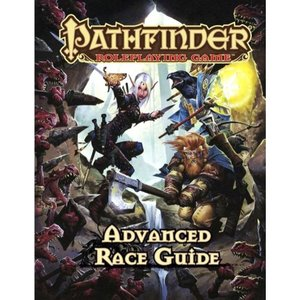 パスファインダー Pathfinder 本・雑誌 1st Edition Advanced Race Guide Roleplaying Book|fermart-hobby