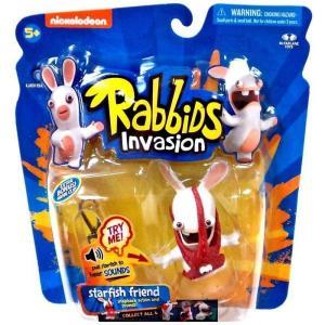 マクファーレントイズ McFarlane Toys フィギュア おもちゃ Raving Rabbids Rabbids Invasion Starfish Friend Action Figure|fermart-hobby