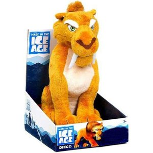 コンチネンタルドリフト Continental Drift ジャストプレイ Just Play ぬいぐるみ おもちゃ Ice Age Diego Plush|fermart-hobby