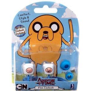 アドベンチャー タイム Adventure Time ジャズウェアーズ Jazwares ユニセックス テックアクセサリー Finn Earbuds|fermart-hobby