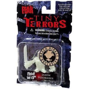 シネマ オブ フィアー メズコ フィギュア A Nightmare on Elm Street Tiny Terrors Series 1 Jason Voorhees Exclusive Mini Figure [Glow-in-the-Dark]|fermart-hobby