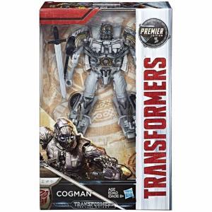 トランスフォーマー Transformers ハズブロ Hasbro Toys フィギュア おもちゃ The Last Knight Premier Deluxe Cogman Action Figure|fermart-hobby