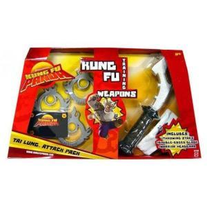 カンフー パンダ Kung Fu Panda マテル Mattel Toys おもちゃ Training Weapons Tai Lung Attack Pack Exclusive Roleplay Toy|fermart-hobby