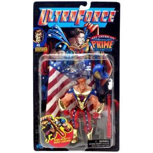 コミック Comics フィギュア Malibu UltraForce All American Prime Action Figure|fermart-hobby