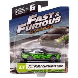 ワイルド スピード The Fast and the Furious グッズ ミニカー Camo Series 2011 Dodge Challenger SRT8 Diecast Car #6/6|fermart-hobby