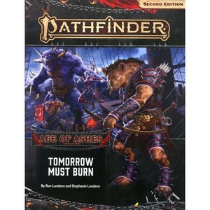 パスファインダー Pathfinder 本・雑誌 2st Edition Age of Ashes Tomorrow Must Burn Roleplaying Book|fermart-hobby