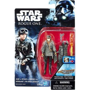 ジン アーソ Jyn Erso ハズブロ Hasbro Toys フィギュア おもちゃ Star Wars Rogue One Sergeant Action Figure [EADU]|fermart-hobby