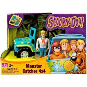 スクービー ドゥー Scooby Doo ゾインク Zoink おもちゃ Monster Catcher 4x4 Playset [Includes Fred]|fermart-hobby