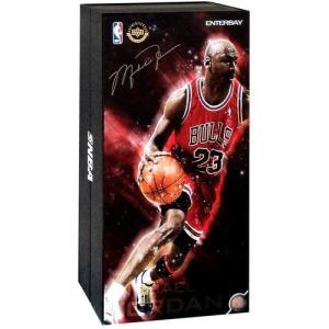 シカゴ ブルズ Chicago Bulls エンターベイ フィギュア おもちゃ NBA Masterpiece Michael Jordan 1/6 Collectible Figure #23 [Red Uniform Road Edition] fermart-hobby