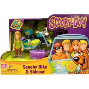 スクービー ドゥー Scooby Doo ゾインク Zoink おもちゃ Scooby Bike & Sidecar Playset [Includes Shaggy]|fermart-hobby