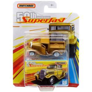 マッチボックス Matchbox おもちゃ・ホビー 50th Anniversary Superfast '32 Ford Pickup Diecast Vehicle #08|fermart-hobby