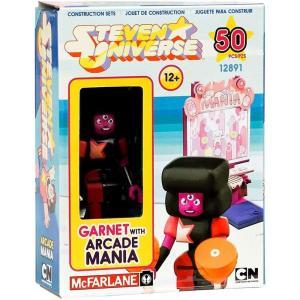 スティーブン ユニバース Steven Universe マクファーレントイズ McFarlane Toys おもちゃ Garnet & Arcade Mania Micro Construction Set|fermart-hobby
