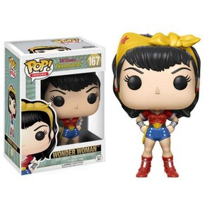ボムシェルズ Bombshells フィギュア DC POP! Heroes Wonder Woman Vinyl Figure #167 [Regular Version]|fermart-hobby