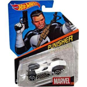パニッシャー Punisher マテル Mattel Toys おもちゃ Hot Wheels Marvel Die-Cast Car|fermart-hobby