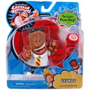 スーパーヒーロー パンツマン Captain Underpants ジャストプレイ Just Play フィギュア おもちゃ George Action Figure [Includes Hypno Ring!]|fermart-hobby