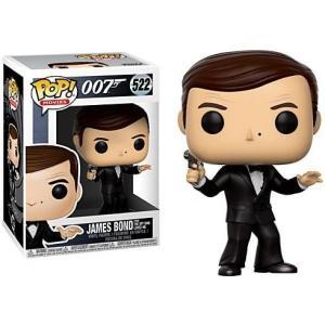 ジェームズ ボンド James Bond ファンコ Funko フィギュア おもちゃ 007 POP! Movies Vinyl Figure #522 [Roger Moore, The Spy Who loved me]|fermart-hobby