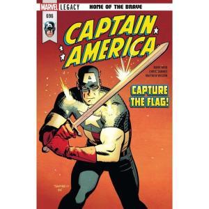 キャプテン アメリカ Captain America マーベル Marvel おもちゃ Legacy #696 Comic Book|fermart-hobby