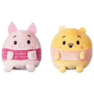 クマのプーさん Winnie the Pooh ディズニー Disney ぬいぐるみ おもちゃ Ufufy & Piglet Exclusive 2.5-Inch Mini Scented Plush Set|fermart-hobby