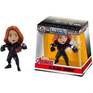 ブラック ウィドウ Black Widow ジェイダトイズ Jada Toys フィギュア おもちゃ Marvel Avengers Metals Action Figure M503 [2.5