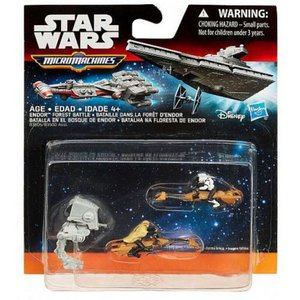スターウォーズ Star Wars ハズブロ Hasbro Toys おもちゃ The Force Awakens Micro Machines Endor Forest Battle Vehicle 3-Pack|fermart-hobby