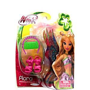 ウィンクス クラブ Winx Club ジャックスパシフィック Jakks Pacific おもちゃ Speedix Flora 11.5-Inch Accessory Pack|fermart-hobby