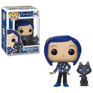 コララインとボタンの魔女 Coraline フィギュア POP! Animation with Cat Buddy Vinyl Figure #422|fermart-hobby