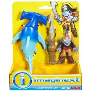 イメージネクスト Imaginext フィギュア Hammerhead Shark Figure Set fermart-hobby