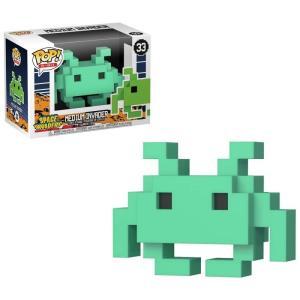 スペースインベーダー Space Invaders フィギュア POP! 8-Bit Medium Invader Exclusive Vinyl Figure #33 [Teal] fermart-hobby