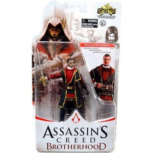 アサシン クリード Assassin's Creed ユニマックス Unimax フィギュア おもちゃ Brotherhood Gamestars Niccolo Machiavelli Action Figure|fermart-hobby