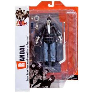 クラークス Clerks ダイアモンド セレクト Diamond Select Toys フィギュア おもちゃ Randal Action Figure [Black & White]|fermart-hobby