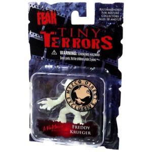 シネマ オブ フィアー メズコ フィギュア A Nightmare on Elm Street Tiny Terrors Series 1 Freddy Krueger Exclusive Mini Figure [Glow-in-the-Dark]|fermart-hobby