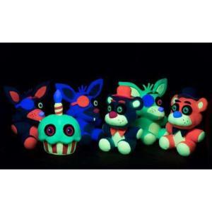 ファイヴナイツアットフレディーズ Five Nights at Freddy's ファンコ Funko ぬいぐるみ おもちゃ Blacklight Freddy 6-Inch Plushie [Blue]|fermart-hobby