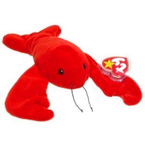 ビーニーベイビーズ Beanie Babies Ty ぬいぐるみ おもちゃ Pinchers the Lobster Beanie Baby Plush|fermart-hobby