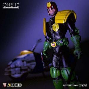 ジャッジ ドレッド Judge Dredd メズコ Mezco Toyz フィギュア おもちゃ One:12 Collective Action Figure|fermart-hobby