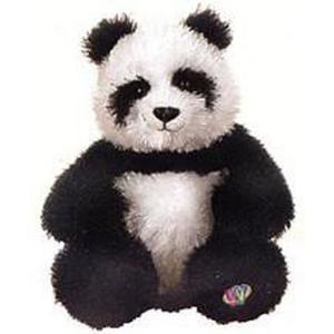 ウェブキンズ Webkinz ぬいぐるみ・人形 ぬいぐるみ Lil' Kinz Panda Plush fermart-hobby