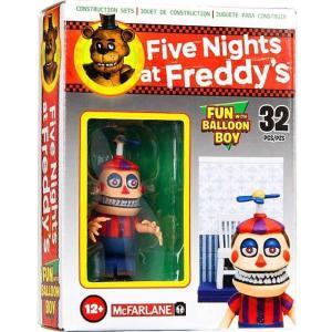 ファイヴナイツアットフレディーズ Five Nights at Freddy's マクファーレントイズ フィギュア おもちゃ Fun with Balloon Boy Micro Figure Build Set|fermart-hobby