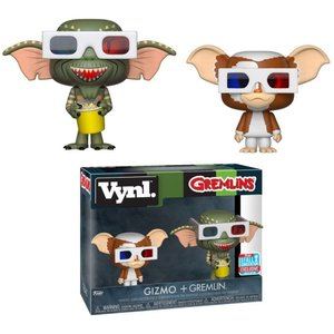 グレムリン Gremlins フィギュア Vynl. Gizmo & Gremlin Exclusive Vinyl Figure 2-Pack [3D Glasses]|fermart-hobby