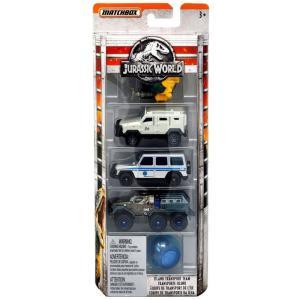 マッチボックス Matchbox グッズ 5点セット Jurassic World Island Transport Team Die Cast Car 5-Pack|fermart-hobby