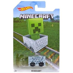 クリーパー Creeper マテル Mattel Toys ダイキャストフィギュア おもちゃ Hot Wheels Minecraft Minecart Diecast Vehicle []|fermart-hobby