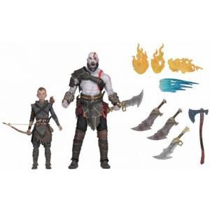 ゴッド オブ ウォー God of War フィギュア 2点セット Kratos & Atreus Action Figure 2-Pack [Ultimate Versions]|fermart-hobby