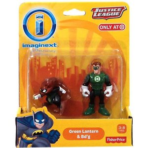 グリーンランタン フィッシャープライス フィギュア おもちゃ DC Super Friends Justice League Imaginext & Bd'g Exclusive 3-Inch Mini Figures fermart-hobby